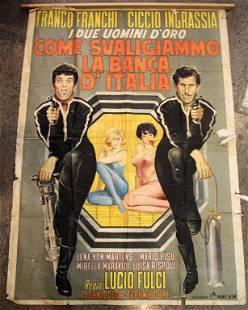 VINTAGE ITALIAN MOVIE POSTER