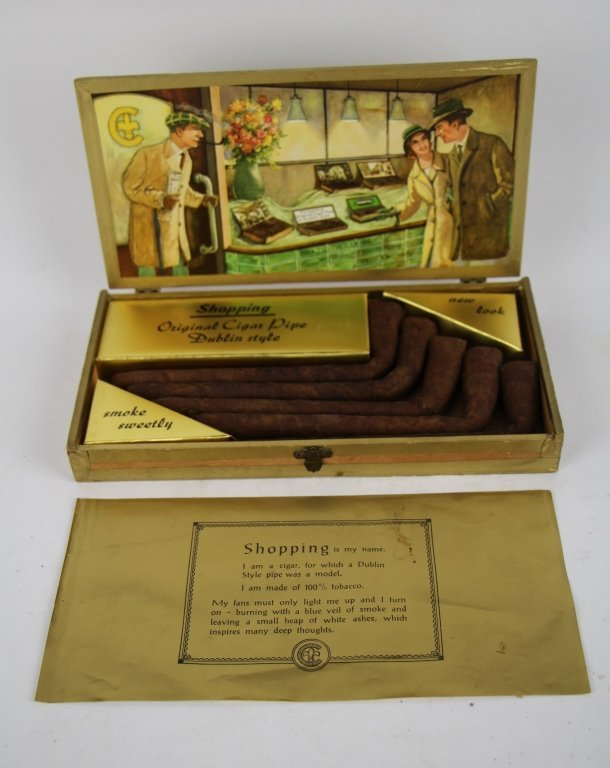 SHOPPING CIGARS, COMPLETE SET  IN ORIGINAL BOX