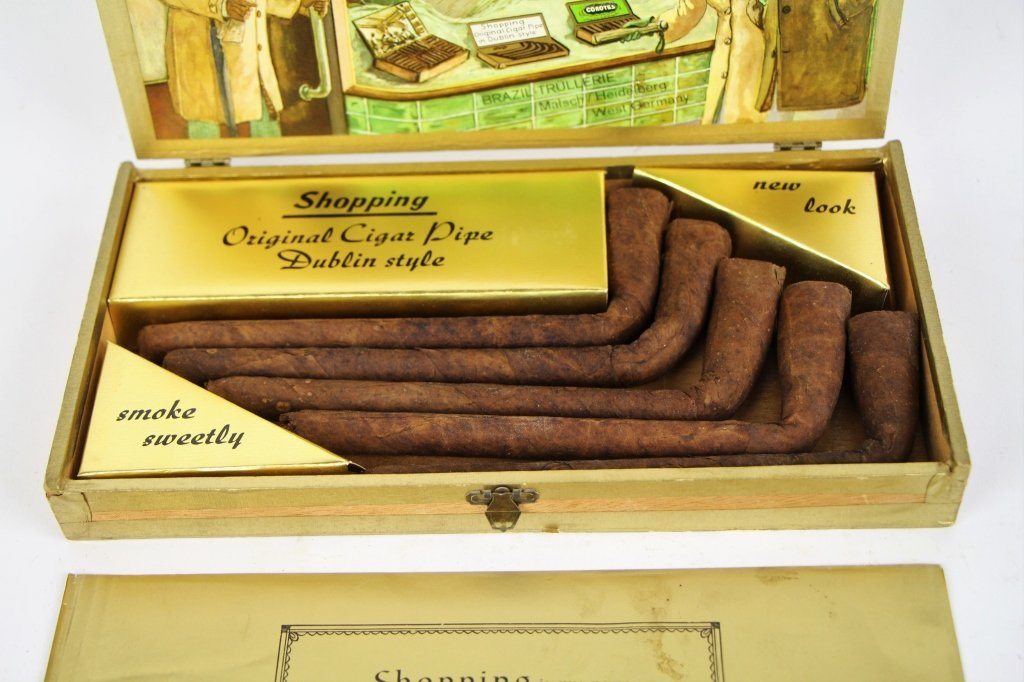 SHOPPING CIGARS, COMPLETE SET  IN ORIGINAL BOX - 3