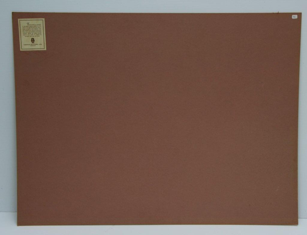 SILK SCREEN - ALBERT CLOUTIER (CAN. 1902-1965) - 5