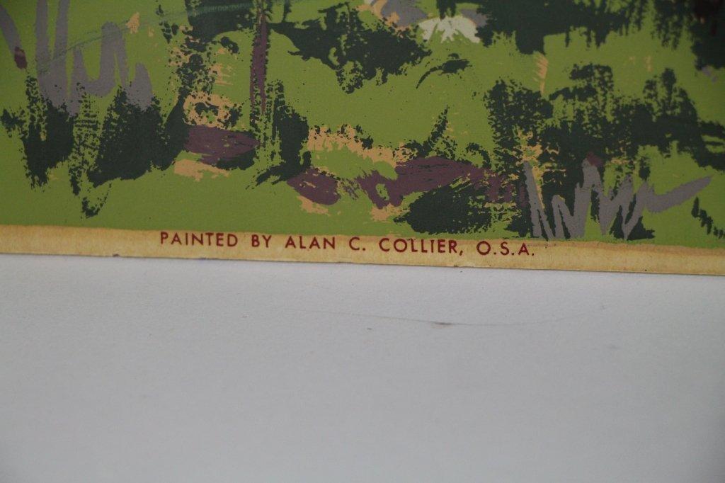 SILK SCREEN - ALLAN C. COLLIER (Can. 1911 - 1990) - 2