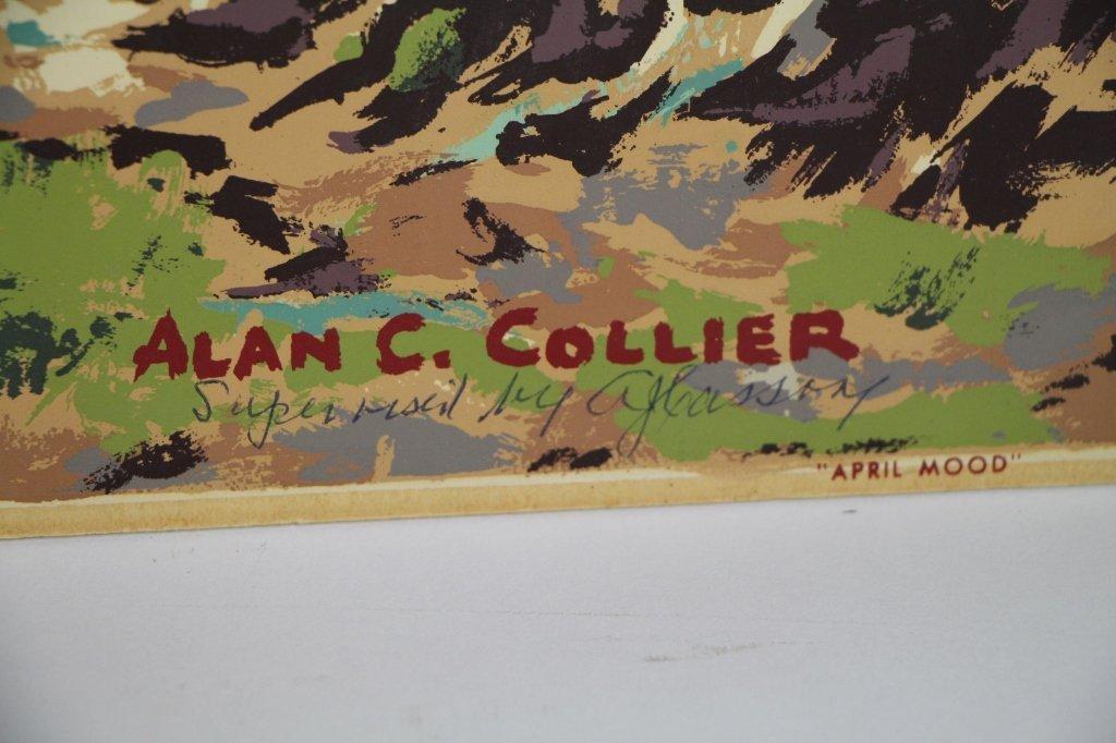 SILK SCREEN - ALLAN C. COLLIER (Can. 1911 - 1990) - 3