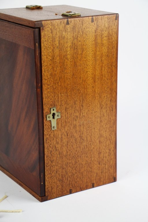 ANTIQUE LAST RITES BOX - 7