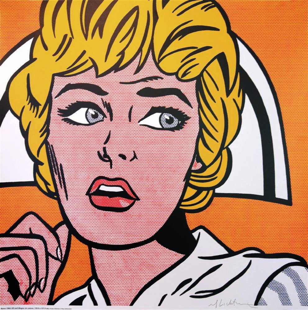 ROY LICHTENSTEIN - Nurse