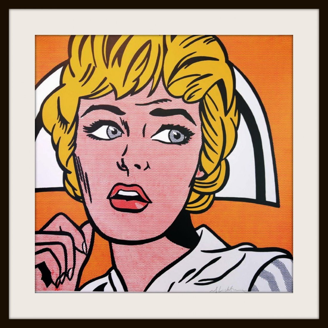 ROY LICHTENSTEIN - Nurse - 5
