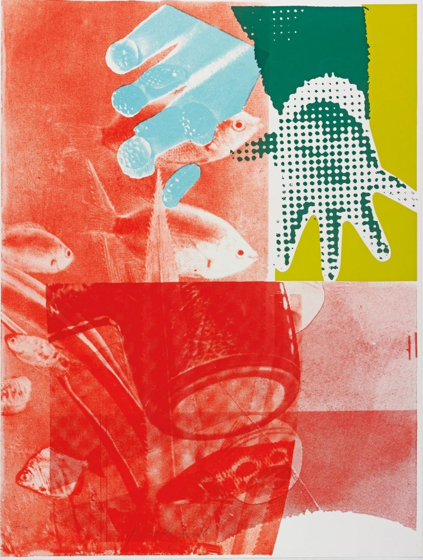 JAMES ROSENQUIST Custom Print III (from 11 Pop Artists)