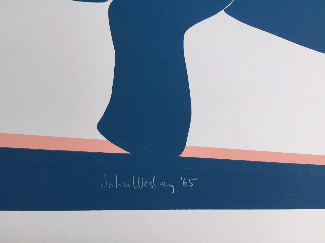 JOHN WESLEY Custom Print III (from 11 Pop Artists) - 2