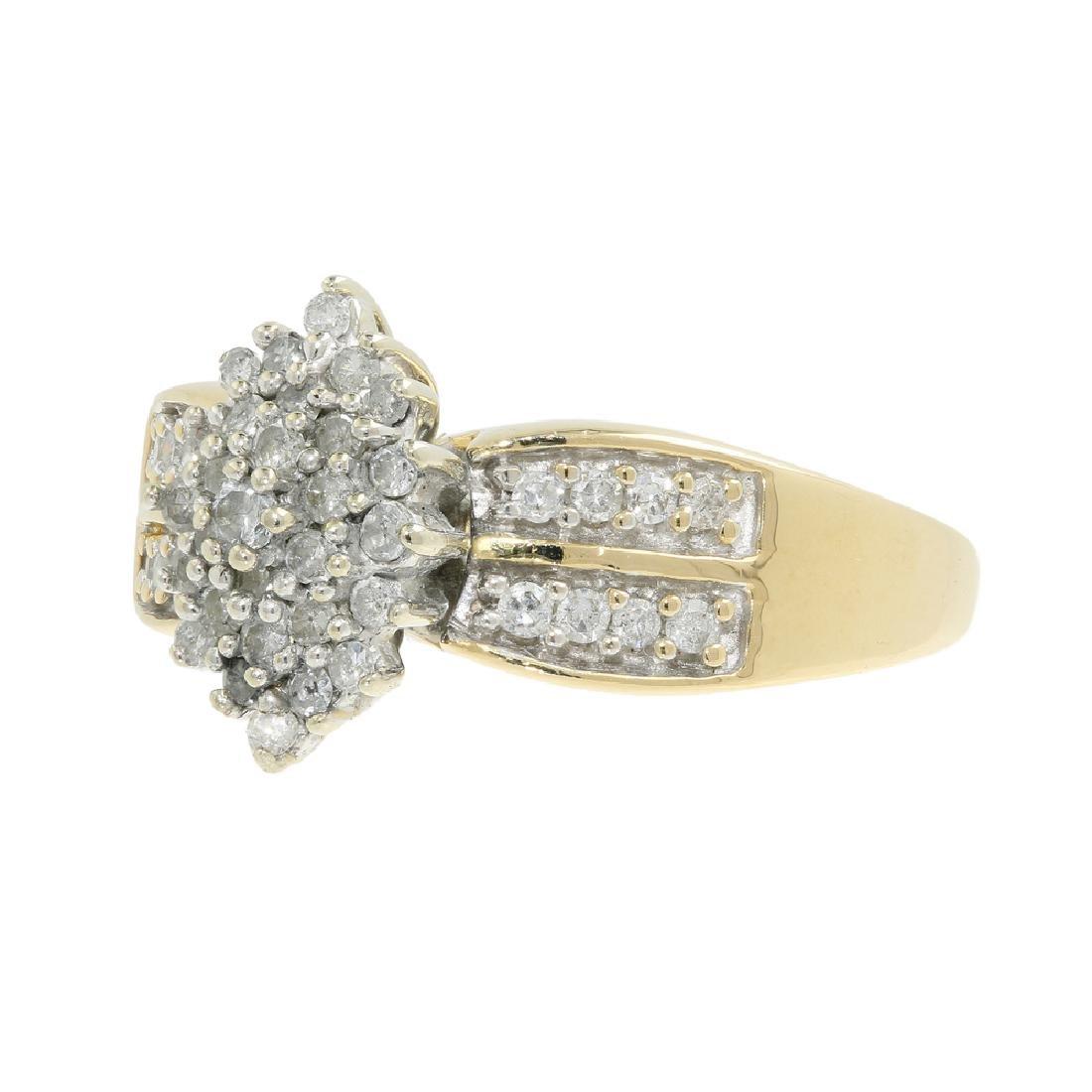 Gorgeous Classic Estate Ladies 14K Yellow Gold Diamond