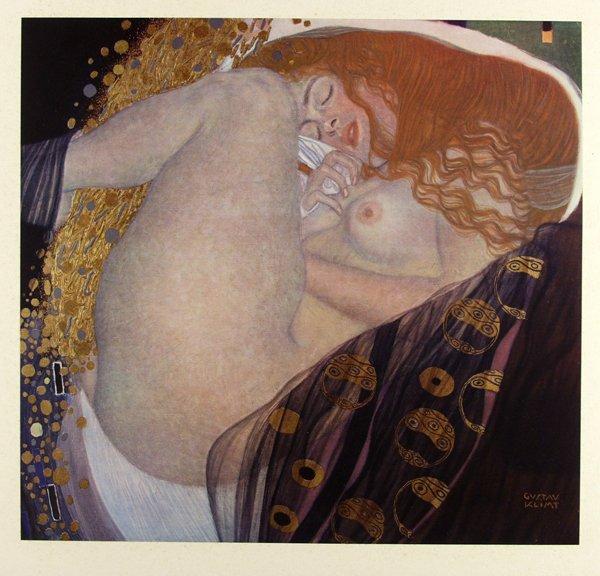 165: Gustav Klimt [after], Danae [From: Das Werk Von Gu