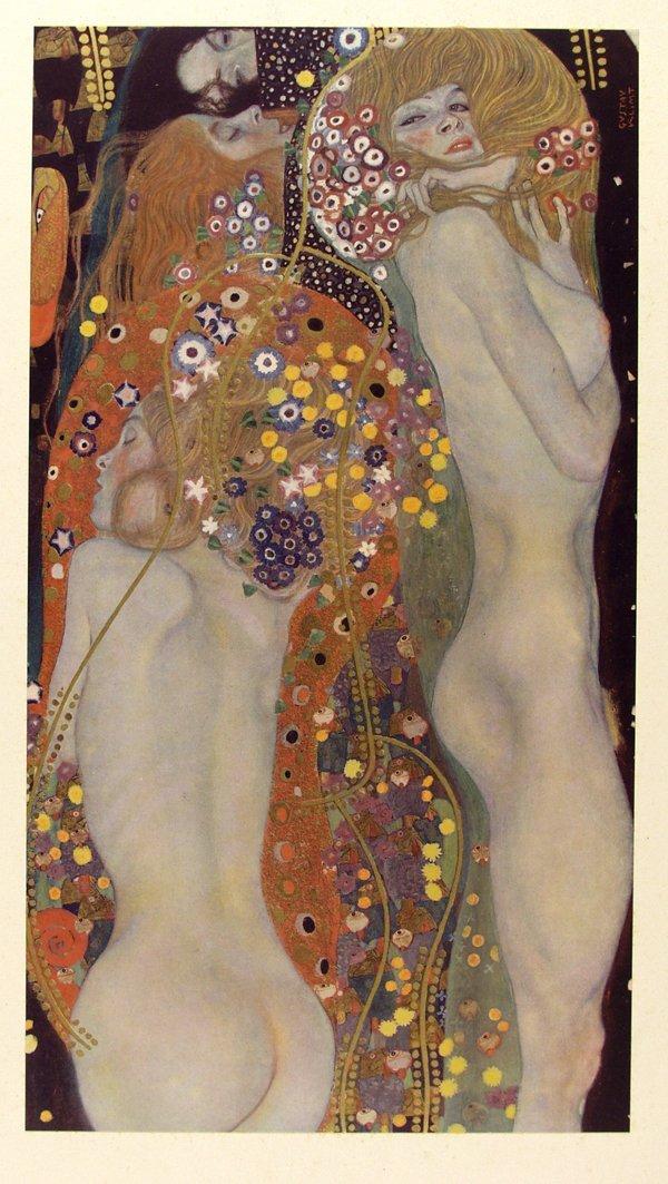 171: Gustav Klimt [after], Water Serpents II [From: Das