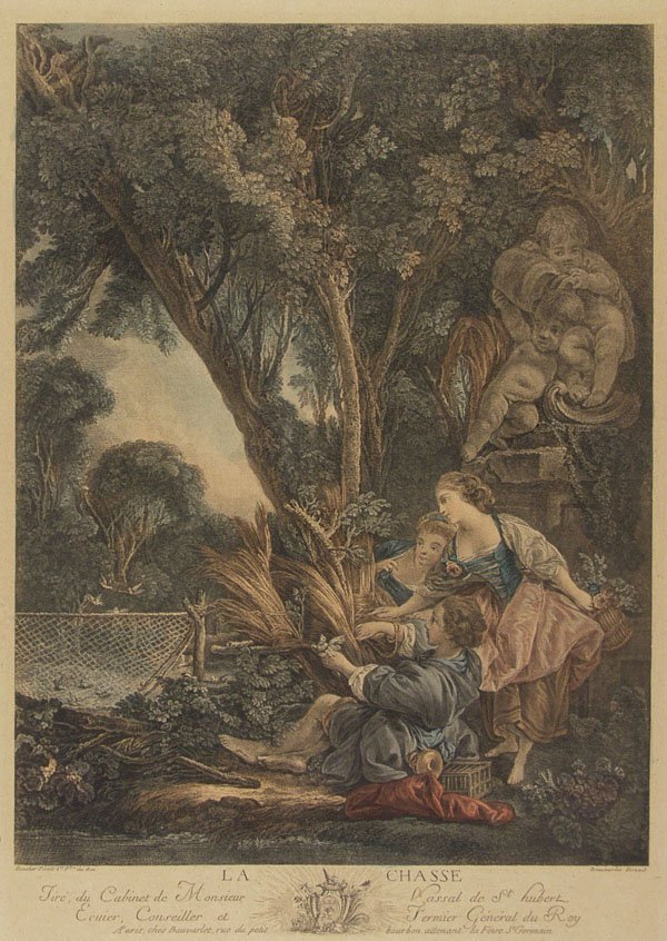 2: JACQUES FIRMIN BEAUVARLET (French) Engraving