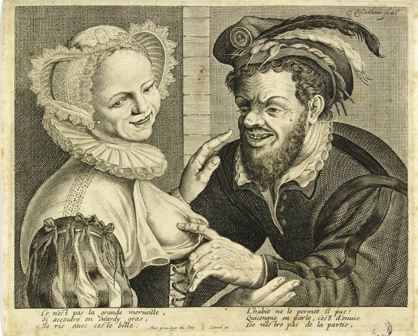 14: THEODOR MATHAM (Dutch) Etching