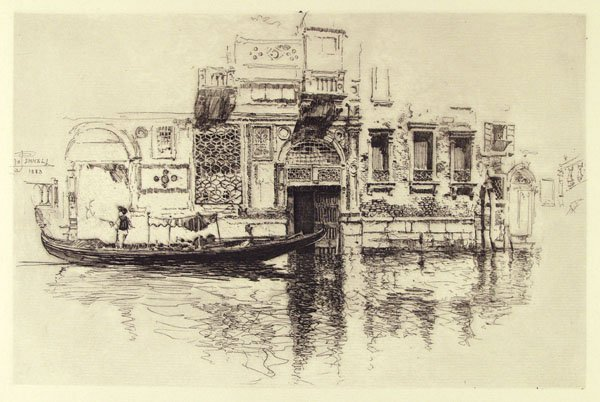 301: JOSEPH PENNELL (American) Etching and Litho [2]