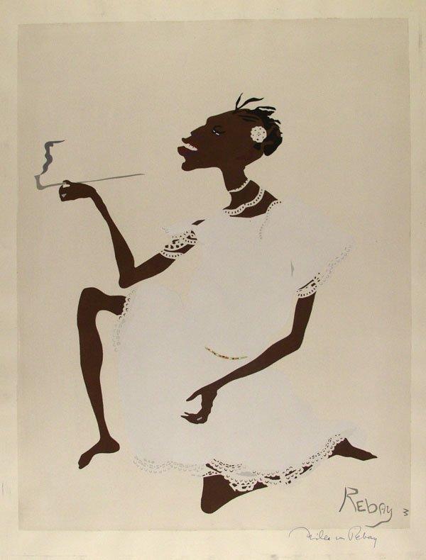 314: HILLA REBAY (American) Color woodcut