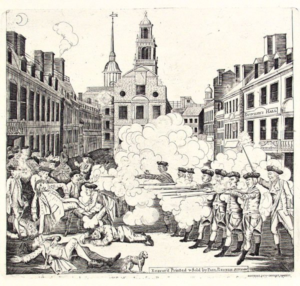 315: PAUL REVERE [AFTER] (American) Engraving, Book