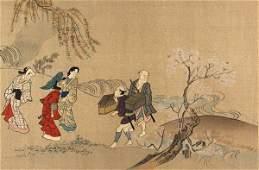 379: ASIAN PRINTMAKERS Wood engravings [3]