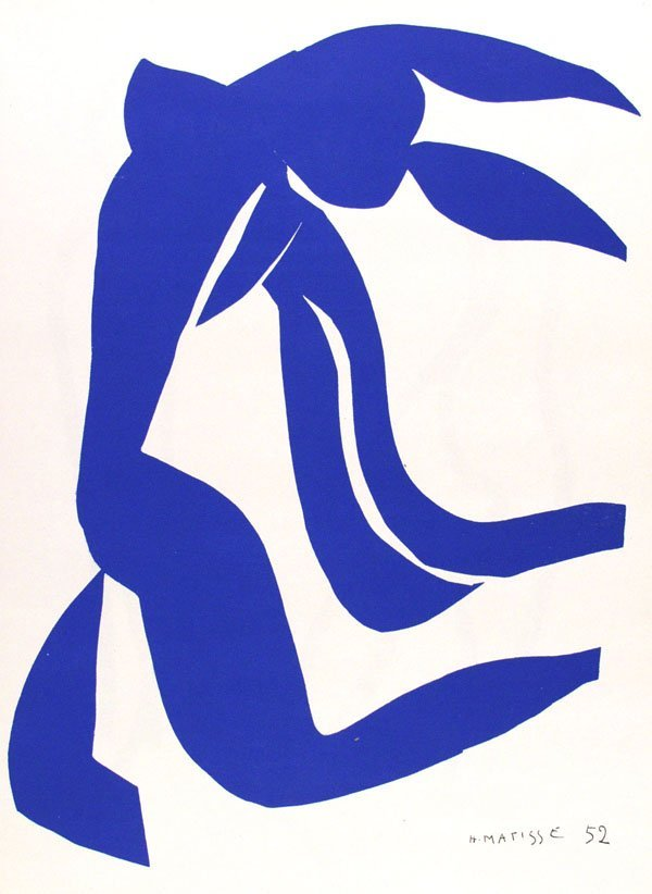 554: HENRI MATISSE (French) Color lithograph