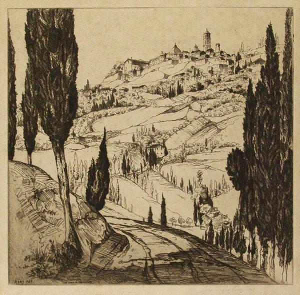 8: JOHN TAYLOR ARMS (American) Group of 2 prints