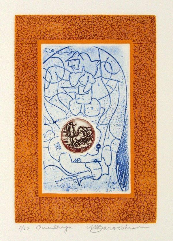 12: MARTIN BAROOSHIAN (American) Group of 5 prints