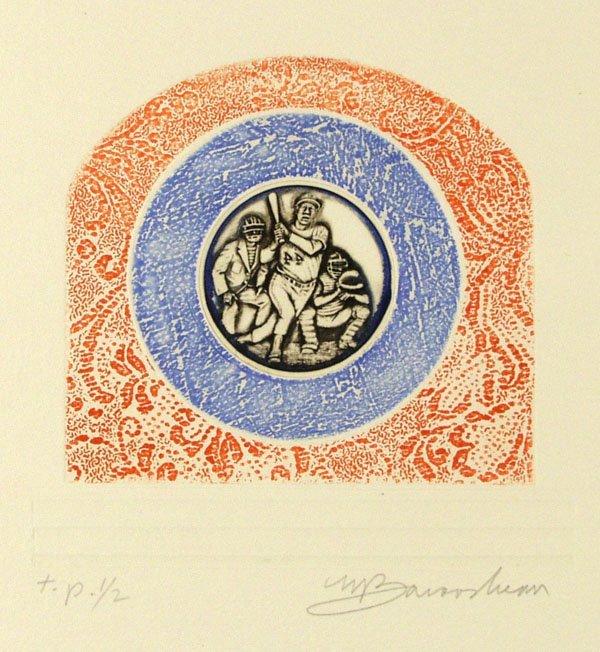 13: MARTIN BAROOSHIAN (American) Group of 5 prints