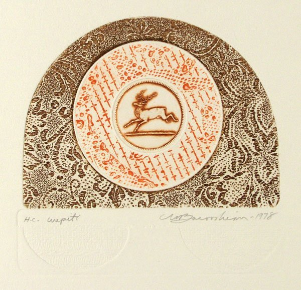 14: MARTIN BAROOSHIAN (American) Group of 5 prints