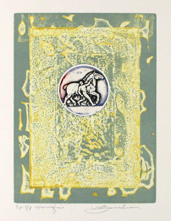 17: MARTIN BAROOSHIAN (American) Group of 5 prints