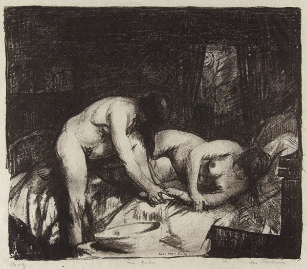 21: GEORGE BELLOWS (American) Lithograph