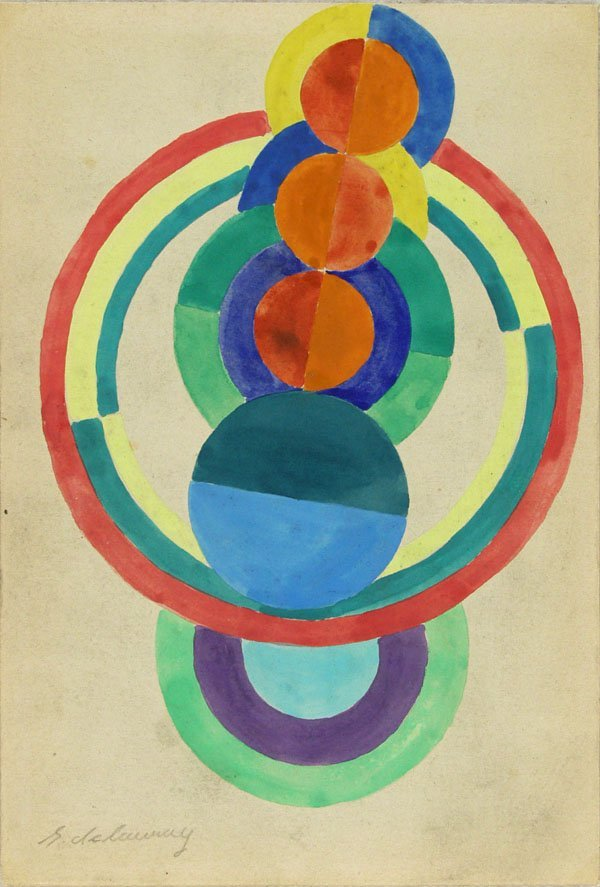 277: ROBERT DELAUNAY (French) Gouache on paper
