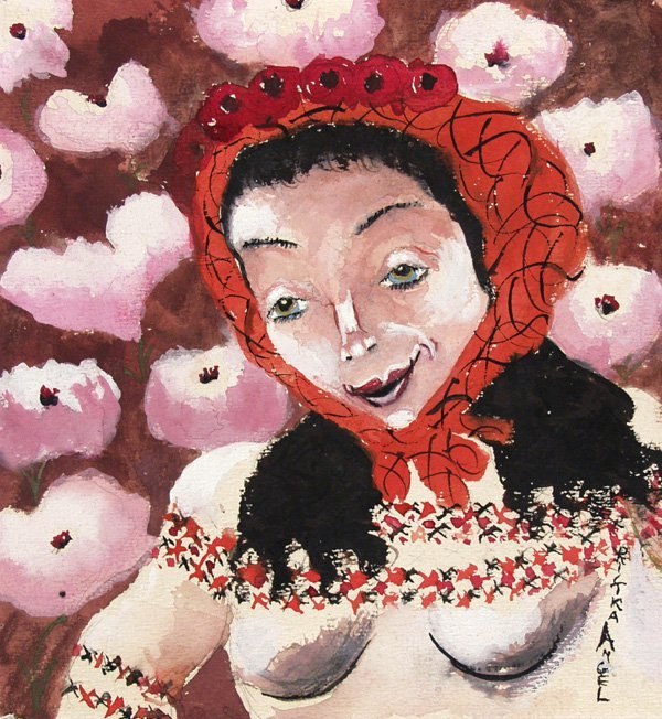 8: RIFKA ANGEL (Russian) Gouache and watercolor