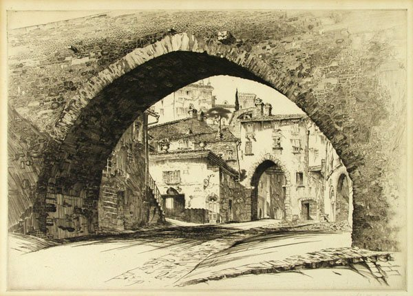 12: JOHN TAYLOR ARMS (American) Etching