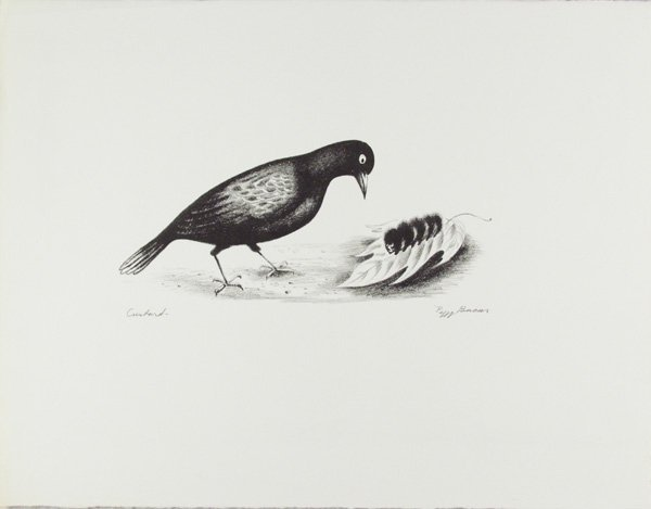 17: PEGGY BACON (American) Lithograph