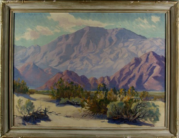 25: CHARLES NOAH BELL (American) Oil on canvas