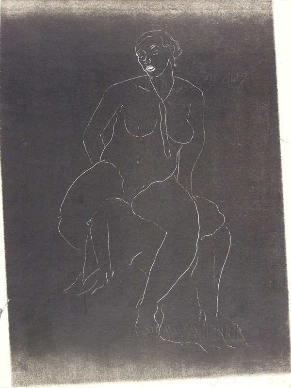 1023: A. GRANT ARNOLD (American) Lithograph