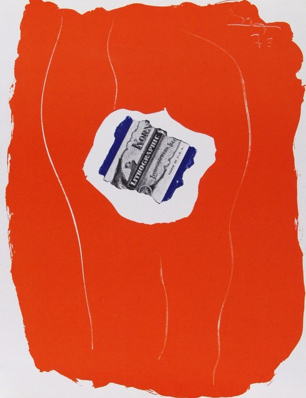 171: ROBERT MOTHERWELL (American) Color lithograph