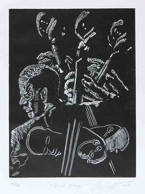 6: AFRICAN AMERICAN PRINTMAKER [CURLEE RAVEN HOLTON]