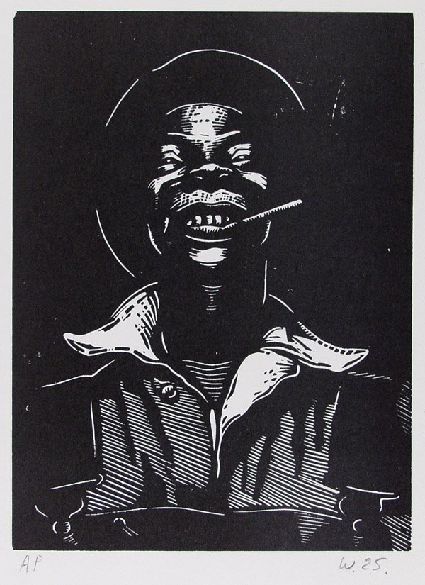 11: AFRICAN AMERICAN PRINTMAKER [WILLIAM E. SMITH]
