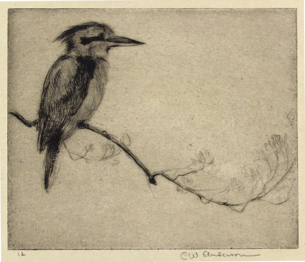 3: CLARENCE WILLIAM ANDERSON (American) Etching
