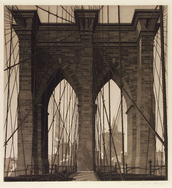 11: JOHN TAYLOR ARMS (American) Etching with aquatint