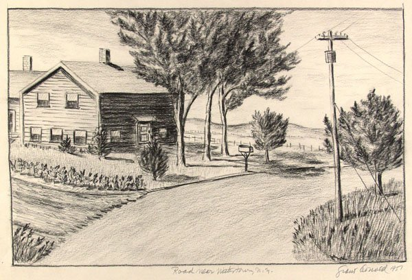 20: GRANT ARNOLD (American) Pencil on paper