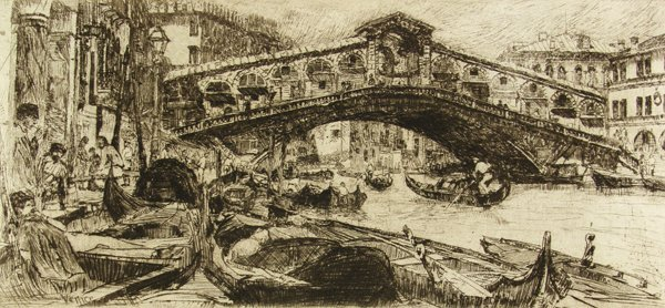 24: OTTO HENRY BACHER (American) Etching