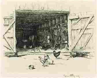 170: KERR EBY (American) Etching
