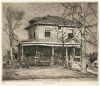478 FRANK HUNTINGTON STACK American Etching