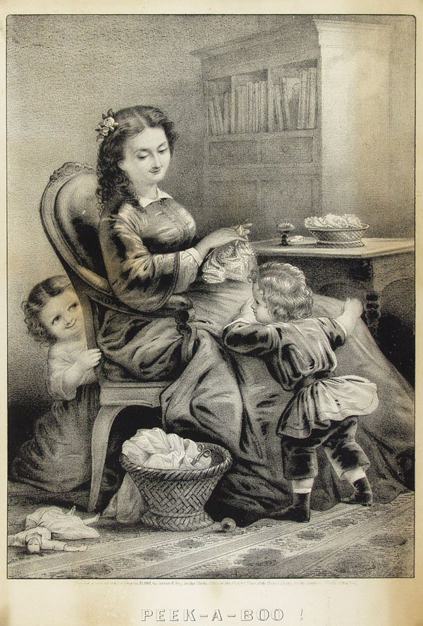 9: CURRIER & IVES (American) Lithograph