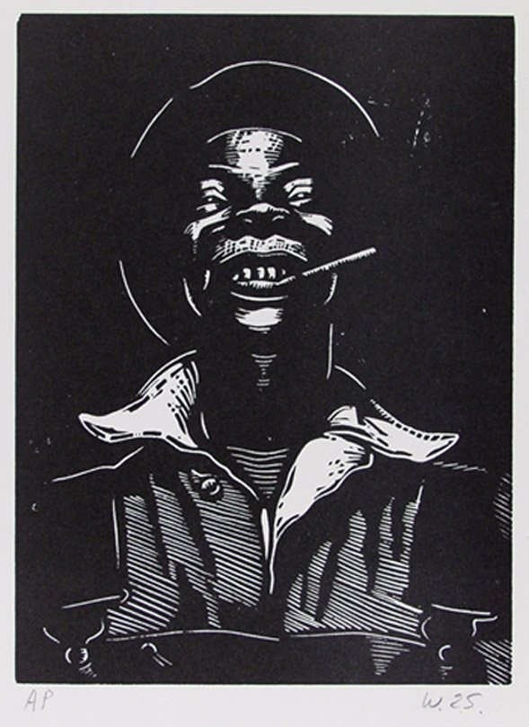 18: AFRICAN AMERICAN PRINTMAKER [WILLIAM E. SMITH] (A