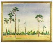 43 WILLIAM J BARTKO American Watercolor