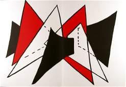 51 ALEXANDER CALDER American Color lithograph