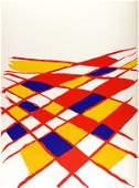 53 ALEXANDER CALDER American Color lithograph