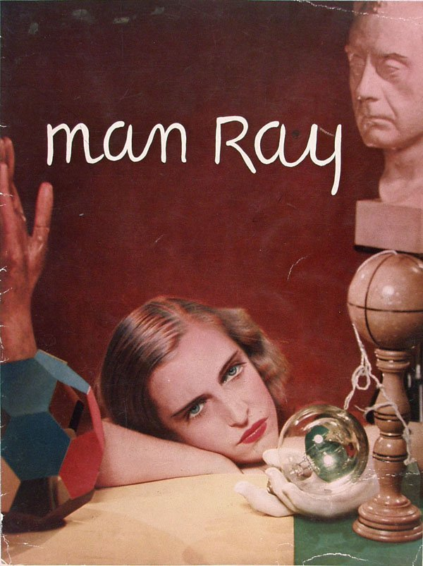 1387: MAN RAY (American) Color offset lithograph