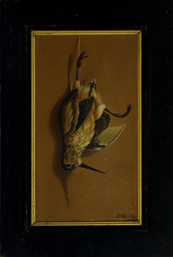 15: JOHN DEWEY MOLASKEY (Canadian/American) Oil on ca