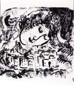 480 MARC CHAGALL RussianFrench Lithograph